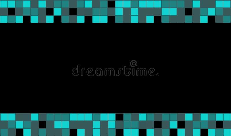 Γραφικό τετραγωνικό χρώμα διανυσματική απεικόνιση
