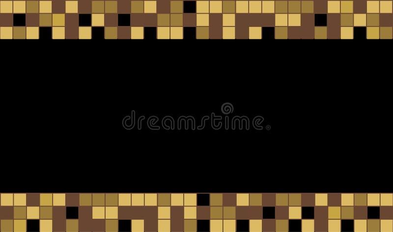 Γραφικό τετραγωνικό χρώμα ελεύθερη απεικόνιση δικαιώματος