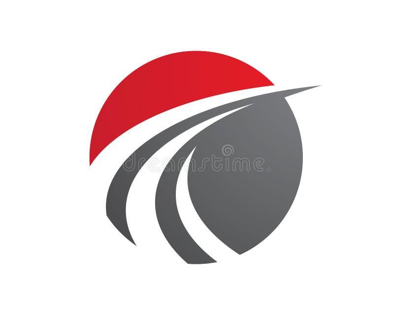 Γρηγορότερο πρότυπο λογότυπων διανυσματική απεικόνιση