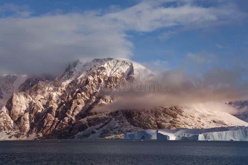 Γροιλανδία scoresbysund στοκ εικόνα με δικαίωμα ελεύθερης χρήσης