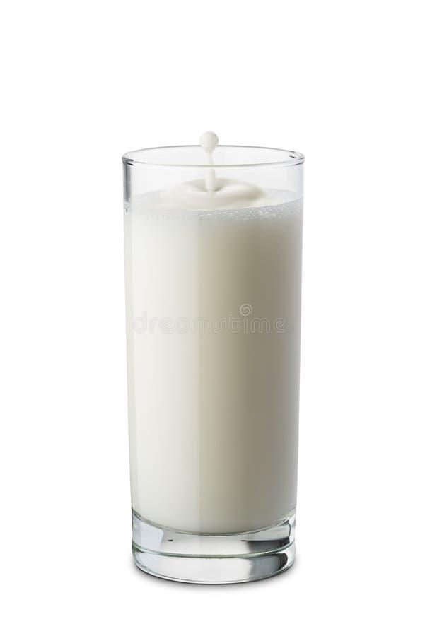 Γυαλί γάλακτος στοκ εικόνες