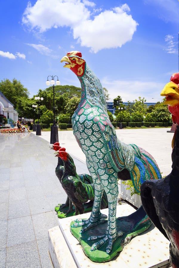 Γυαλί κοτόπουλου στοκ φωτογραφία