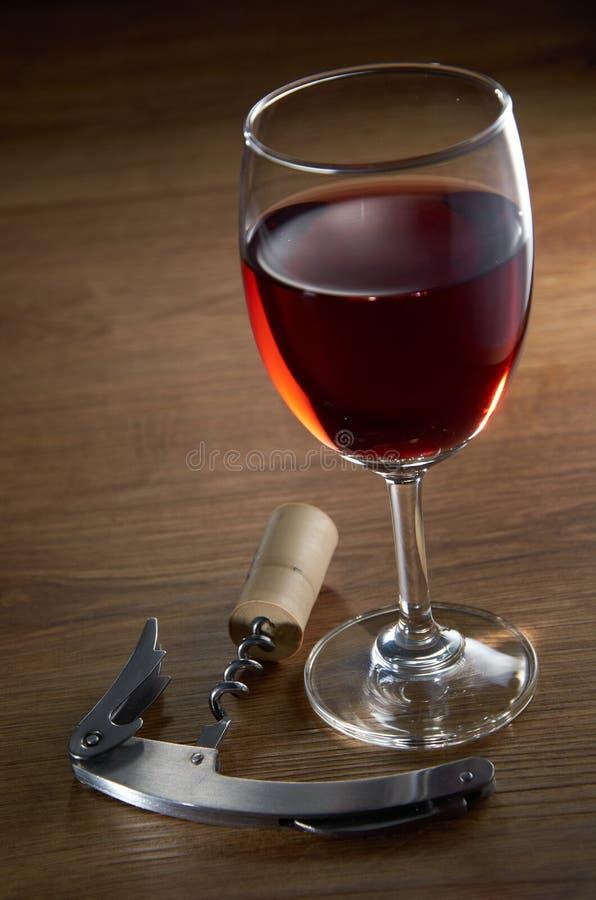 Γυαλί κρασιού στοκ φωτογραφία με δικαίωμα ελεύθερης χρήσης