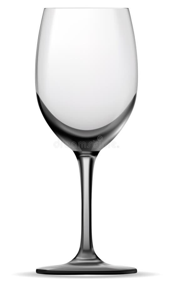 Γυαλί κρασιού ελεύθερη απεικόνιση δικαιώματος