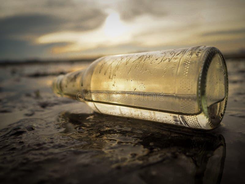 Γυαλί μπουκαλιών στοκ φωτογραφίες