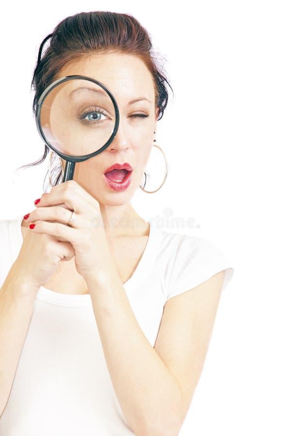 γυαλί που ενισχύει τις όμ& στοκ εικόνα με δικαίωμα ελεύθερης χρήσης