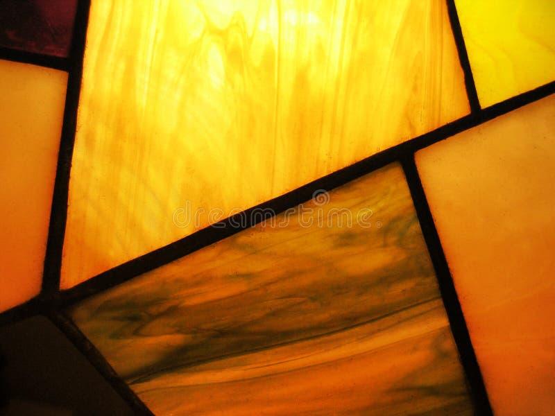 γυαλί που λεκιάζουν αφ&e στοκ φωτογραφία