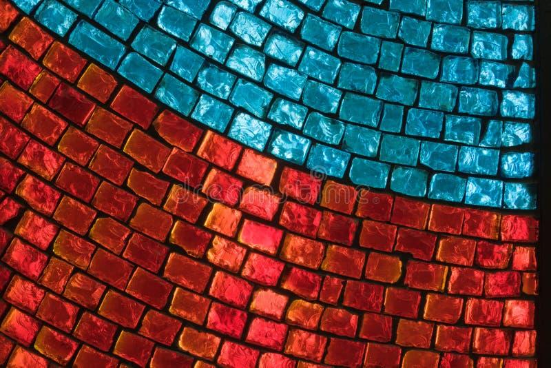 γυαλί που χρωματίζεται στοκ εικόνες