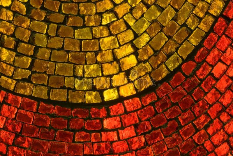 γυαλί που χρωματίζεται στοκ φωτογραφία