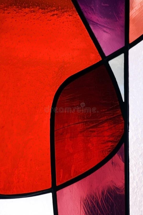 γυαλί 2 που λεκιάζουν στοκ εικόνες