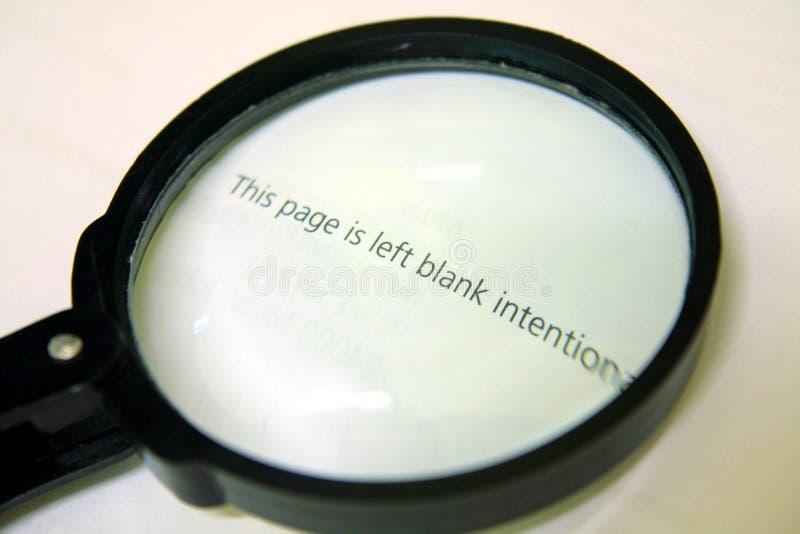 Γυαλί Magnifier στοκ εικόνες με δικαίωμα ελεύθερης χρήσης