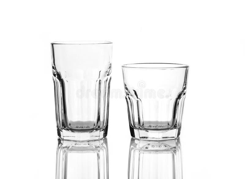 γυαλιά δύο ποτών στοκ φωτογραφία