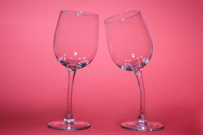 γυαλιά δύο στοκ εικόνες με δικαίωμα ελεύθερης χρήσης