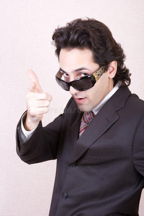 γυαλιά ηλίου επιχειρημ&alph στοκ φωτογραφία με δικαίωμα ελεύθερης χρήσης