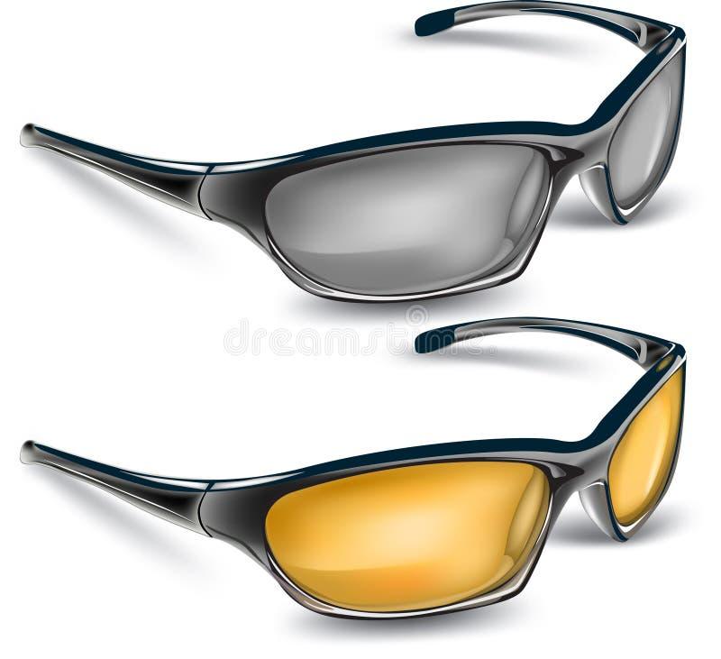 γυαλιά ηλίου διανυσματική απεικόνιση