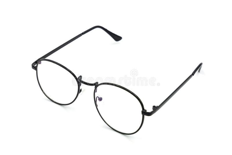 Γυαλιά σε ένα άσπρο υπόβαθρο στοκ φωτογραφία