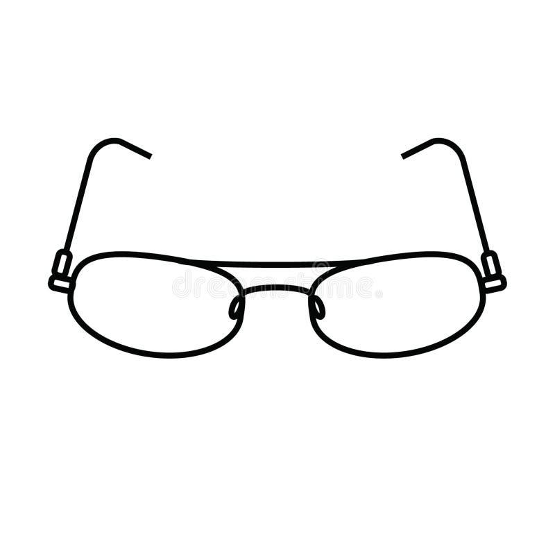 γυαλιά διανυσματική απεικόνιση