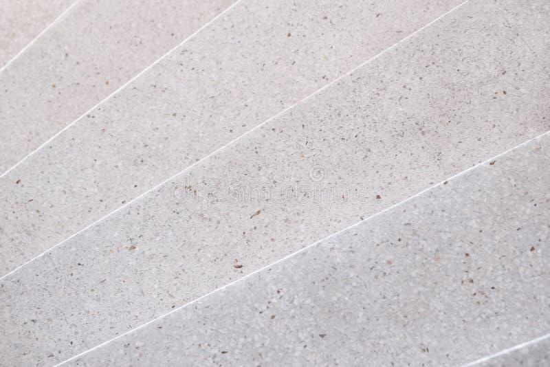 Γυαλισμένη διάβαση πεζών πετρών σκαλοπατιών βεράντα και πάτωμα, σχέδιο και ομο στοκ φωτογραφίες