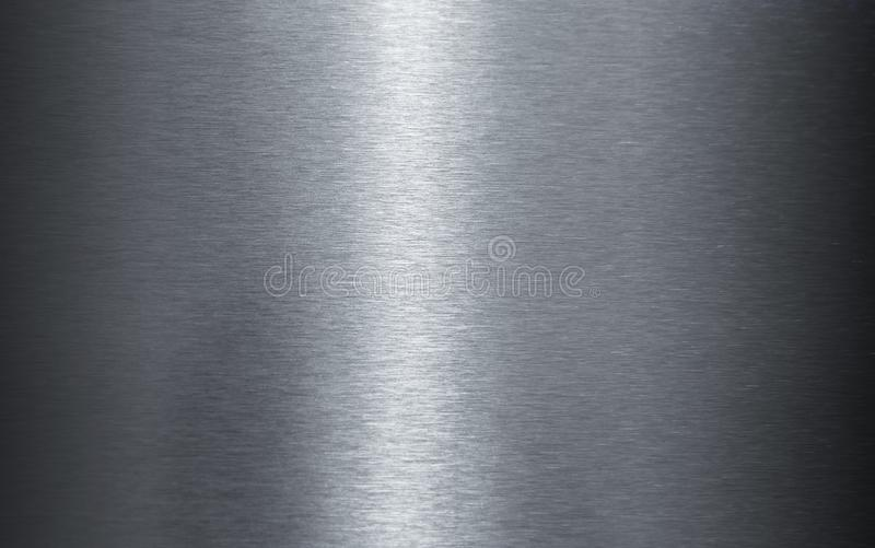 Γυαλισμένη σύσταση φύλλων ανοξείδωτου στοκ εικόνες