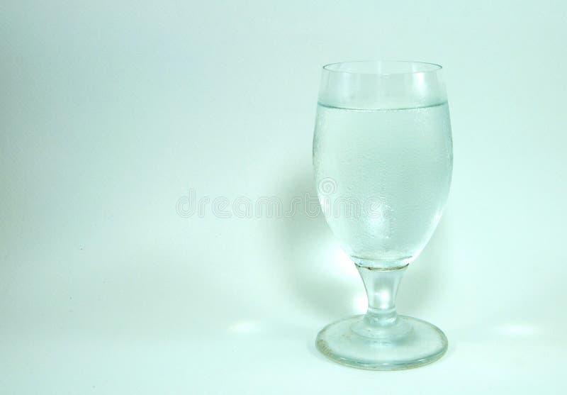 Γυαλί κρασιού και φελλός σαμπάνιας στο άσπρο υπόβαθρο στοκ εικόνες