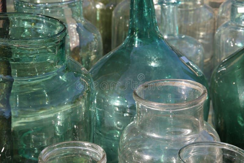 γυαλί μπουκαλιών παλαιό στοκ φωτογραφίες με δικαίωμα ελεύθερης χρήσης