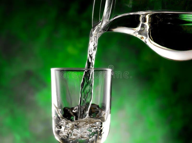 Γυαλί του κρύου νερού στοκ φωτογραφίες με δικαίωμα ελεύθερης χρήσης
