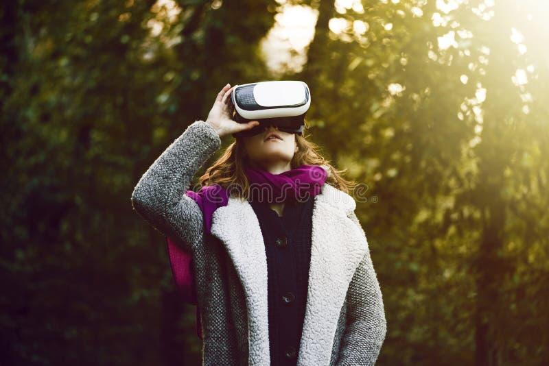 Γυαλιά εικονικής πραγματικότητας στοκ φωτογραφίες