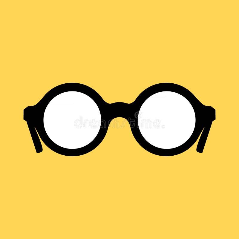 Γυαλιά ηλίου Hipster καθορισμένα απεικόνιση αποθεμάτων