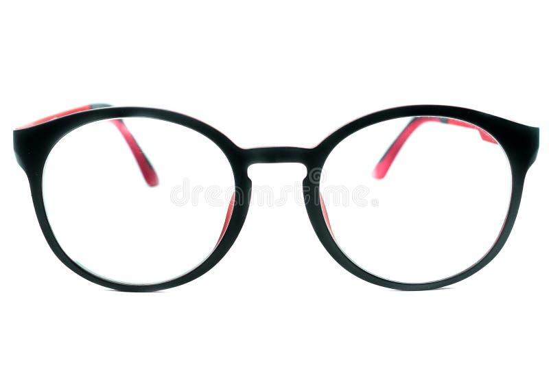 Γυαλιά μαυρισμένων ματιών που απομονώνονται στο άσπρο υπόβαθρο στοκ εικόνες