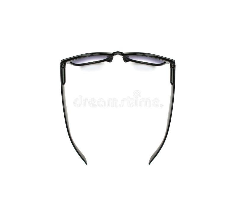Γυαλιά μαυρισμένων ματιών που απομονώνονται στο λευκό στοκ φωτογραφίες με δικαίωμα ελεύθερης χρήσης