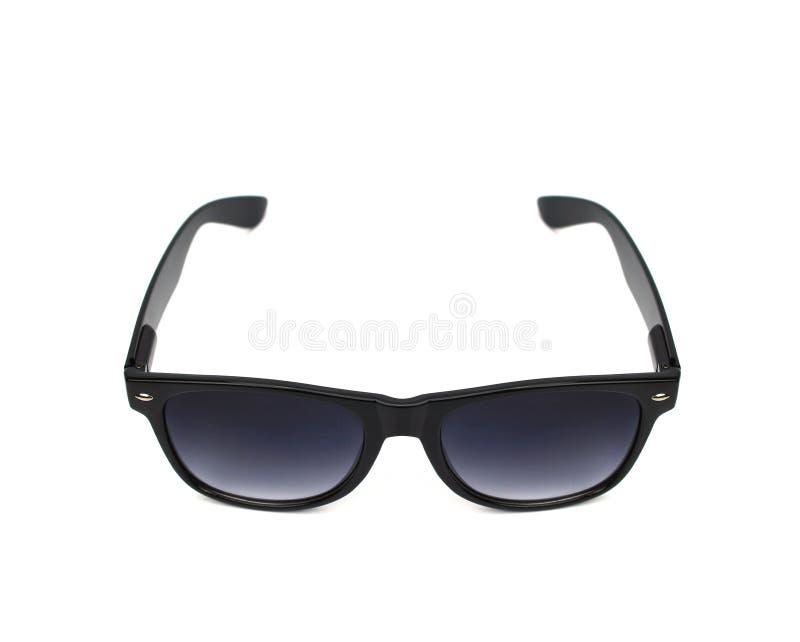Γυαλιά μαυρισμένων ματιών που απομονώνονται στο λευκό στοκ φωτογραφία με δικαίωμα ελεύθερης χρήσης
