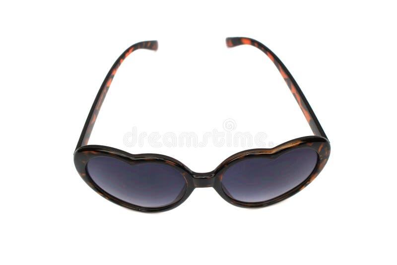 Γυαλιά μαυρισμένων ματιών που απομονώνονται στο λευκό στοκ εικόνα με δικαίωμα ελεύθερης χρήσης