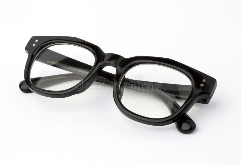 Γυαλιά μαυρισμένων ματιών που διπλώνονται που απομονώνονται στο λευκό στοκ φωτογραφίες με δικαίωμα ελεύθερης χρήσης