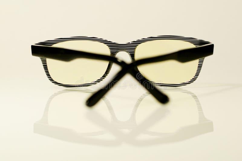Download Γυαλιά υπολογιστών στοκ εικόνες. εικόνα από οπτική, αντανάκλαση - 62715604