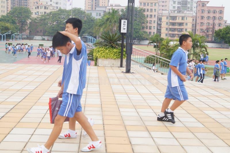 Γυμνάσιο Baoan Shajing Shenzhen στοκ εικόνες