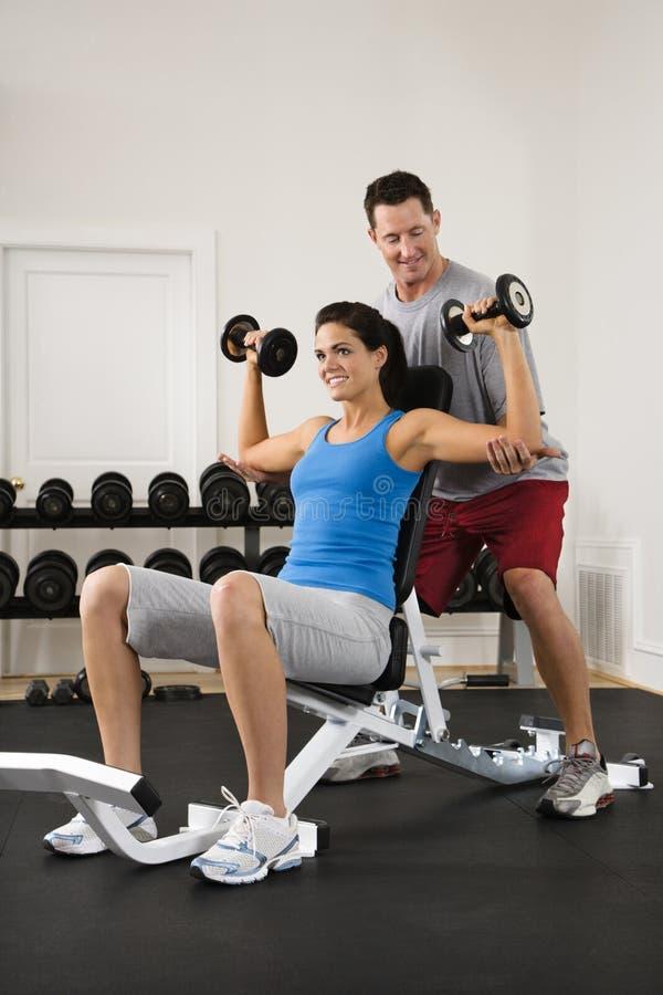 γυμναστική workout στοκ εικόνα με δικαίωμα ελεύθερης χρήσης