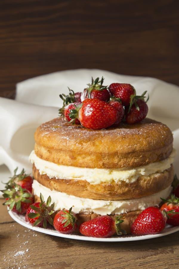 Γυμνό κέικ στοκ φωτογραφίες