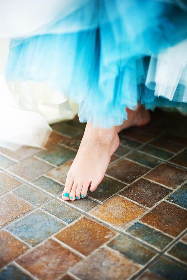 Γυμνό πόδι στοκ φωτογραφίες