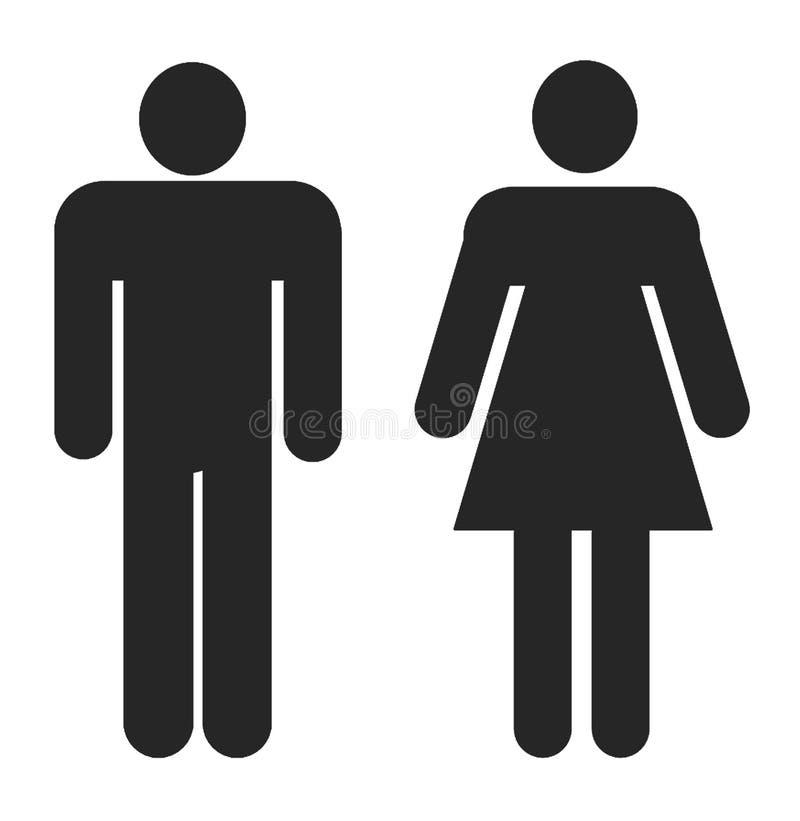 γυναίκα ανδρών ελεύθερη απεικόνιση δικαιώματος