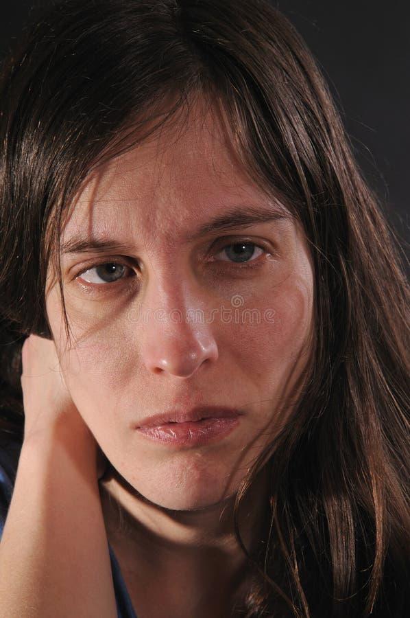 γυναίκα απελπισίας στοκ φωτογραφία με δικαίωμα ελεύθερης χρήσης