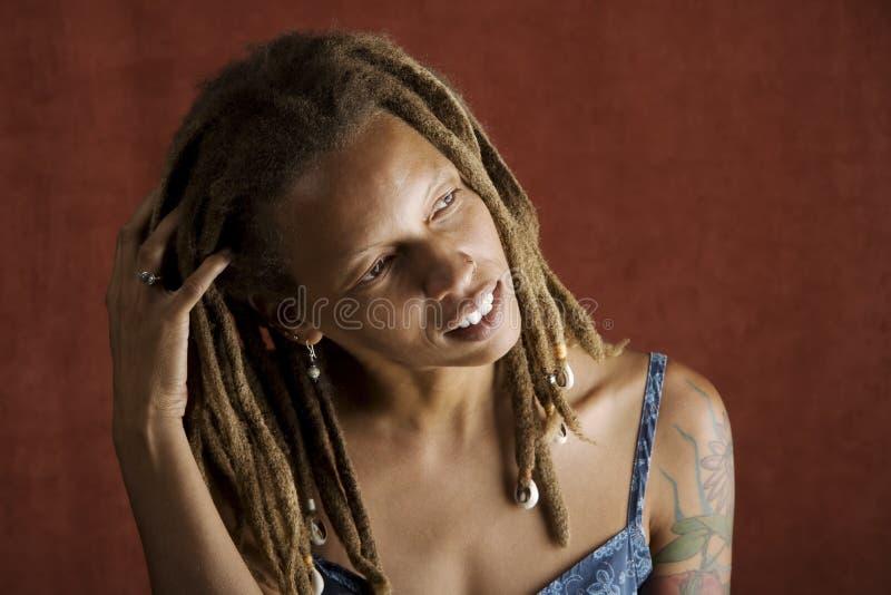 γυναίκα αφροαμερικάνων στοκ φωτογραφία με δικαίωμα ελεύθερης χρήσης