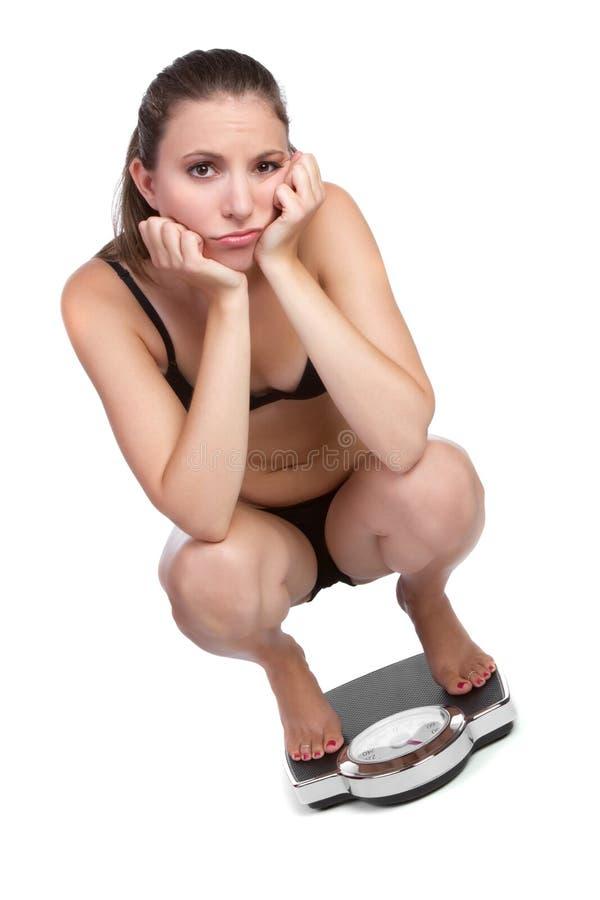 γυναίκα βάρους απώλεια&sigma στοκ φωτογραφία