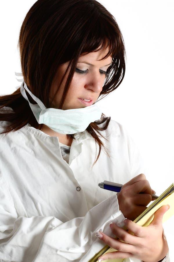 γυναίκα γιατρών στοκ εικόνα με δικαίωμα ελεύθερης χρήσης