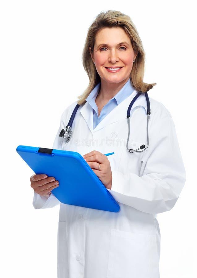 Γυναίκα γιατρών. στοκ φωτογραφίες με δικαίωμα ελεύθερης χρήσης