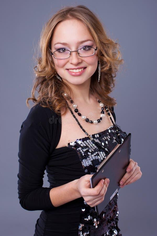 γυναίκα γραμματοθηκών στοκ εικόνες