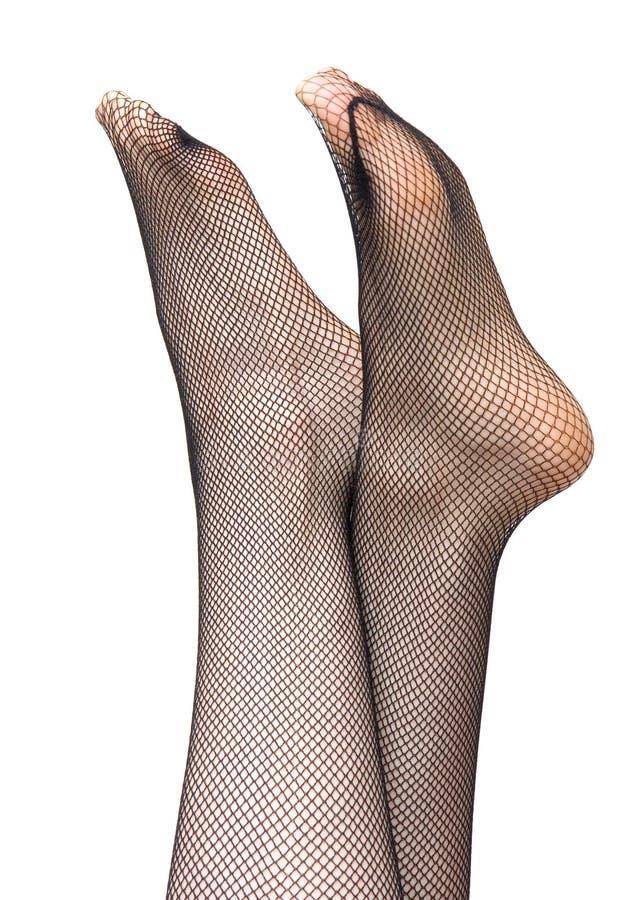 γυναίκα γυναικείων καλτσών ποδιών στοκ φωτογραφία με δικαίωμα ελεύθερης χρήσης