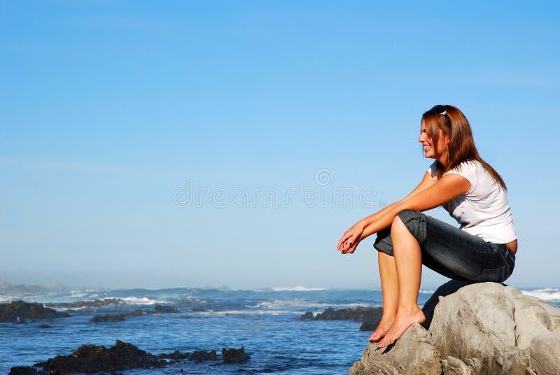 γυναίκα διακοπών στοκ φωτογραφίες