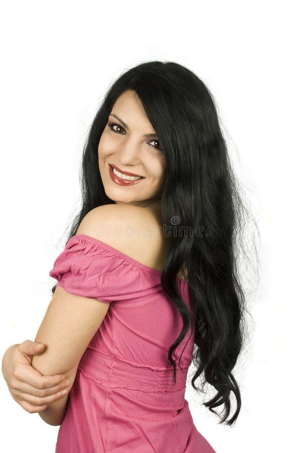 γυναίκα δοντιών χαμόγελου στοκ εικόνες