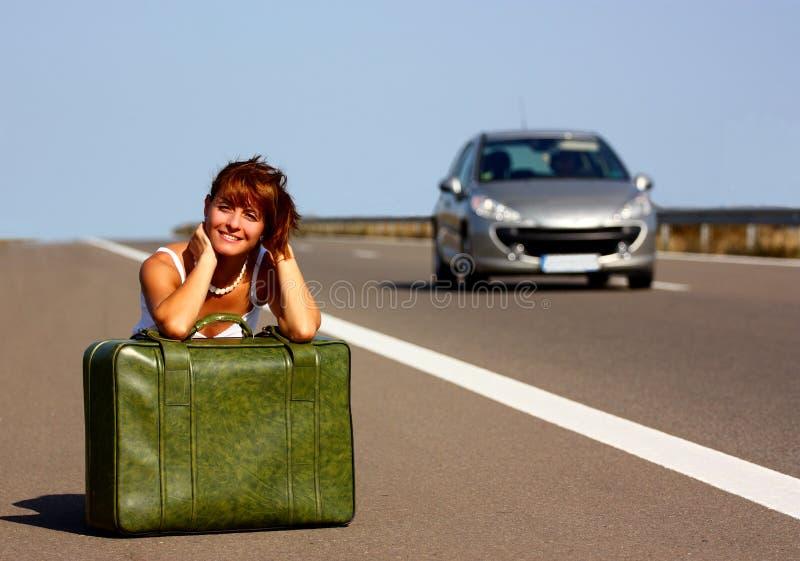 γυναίκα εθνικών οδών στοκ φωτογραφία
