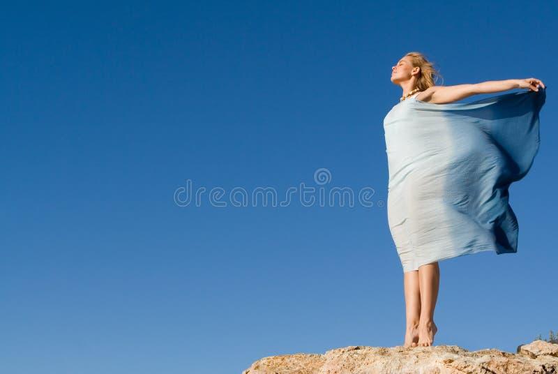 γυναίκα ελευθερίας υπ& στοκ εικόνα με δικαίωμα ελεύθερης χρήσης